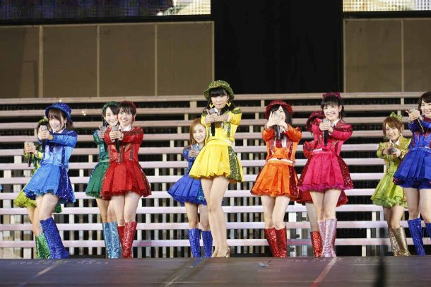 Highlights from AKB48′s Five-Dome Tour [Nagoya Dome Day 1] (20)