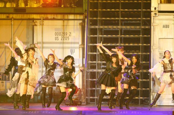 Highlights from AKB48′s Five-Dome Tour Osaka Dome Day 1 (3)