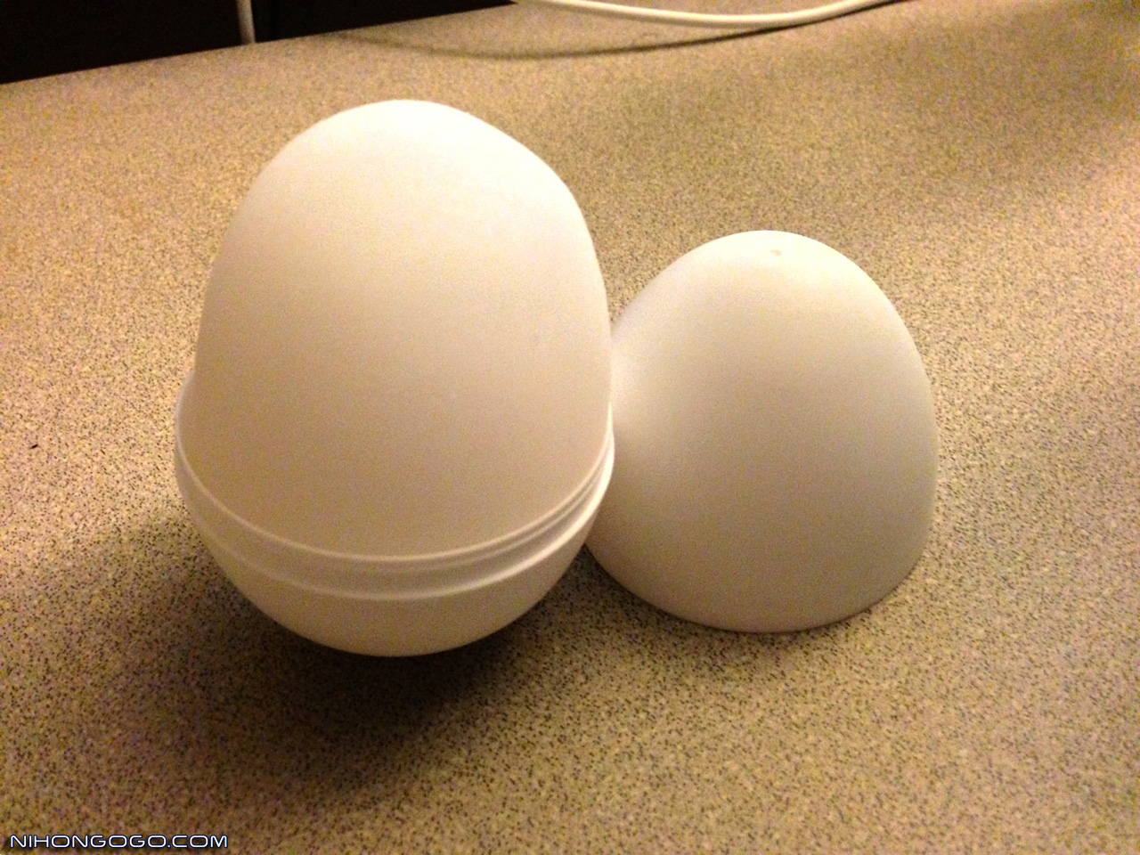 Tenga Egg Being Used