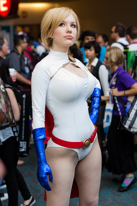 Remarkable, very larkin love as power girl cosplay useful