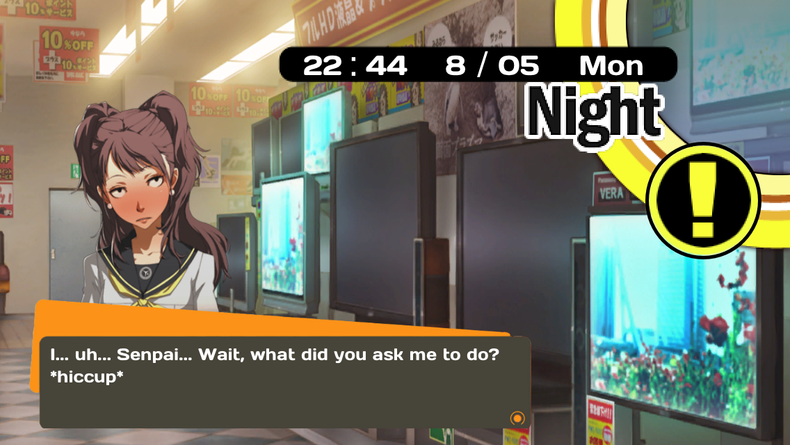 The Persona Weather App For IOS Brings You Right Into The Shadow - Japan map persona 4