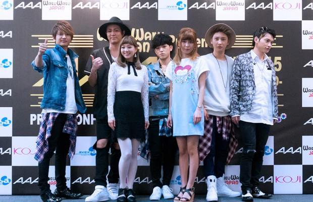 An Interview with J-pop Group AAA at the Asia Tour 2015