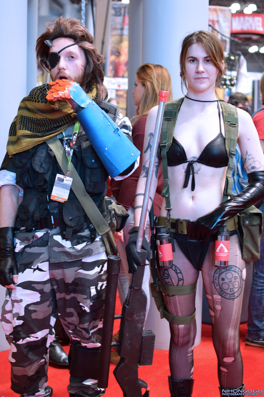 Cosplay Round Up New York Comic Con 2015 Edition Metal Gear Solid